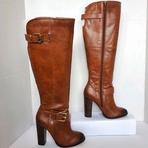 Aldo Over The Knee Leather Boots